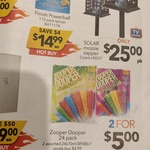 [SA, VIC & Broken Hill ] 24 Pack Zooper Dooper 2 for $5 @ Cheap as Chips (in-Store Only)