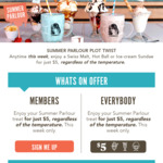 [VIC] Swiss Malt, Hot Ball or Ice-Cream Sundae $5 @ Pancake Parlour