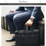 Saffiano Leather Laptop Bag Clearance between $90-$125 Delivered @ Darcy Banks