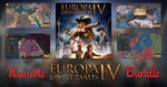 [PC, Steam] Humble Europa Universalis IV Bundle US $1 (~ A $1.45) / BTA (~ A $10.64) / BTA 2 (~ A $24.77) @ Humble Bundle