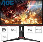 "[eBay Plus] AOC 24G2 24"" Monitor $256.50 Delivered @ Shopping Express eBay"