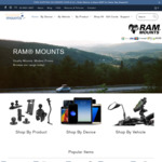 10% off RAM Mounts + Free Ship on Orders $100+: Mounts 4 Phone, GPS, Tablet, Camera, Fishfinder, etc @ Modest Mounts