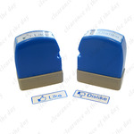 One Pair of Like and Dislike Pre-ink Stamps. $4 Free Shipping.
