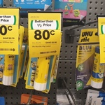 Uhu Glue Stick 40g for $0.80 (Save $2.90) @ Woolworths