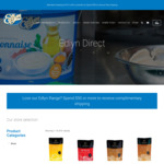 Edlyn Flavoured Milkshake Toppings 3L Bottle - $9 + $10 Delivery (Free over $50 Spend) @ Edlyn