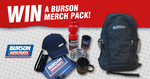 Win 1 of 5 Merchandise Packs Worth $300 from Burson Auto Parts