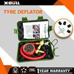 X-BULL Tyre Deflator Tire Air Deflators Rapid with Pressure Gauge Valve Tool 4WD $17.82 @ maixiang eBay