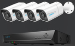Reolink 4K Security System with 4 4K Cameras, 1 8ch NVR - RLK8-800B4 - US$421.29 (~A$612) (Was ~A$809) @ Reolink