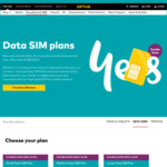 Double Data on Data Sims e.g. 50GB for $25 per Month @ Optus