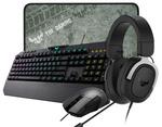 ASUS TUF Gaming Bundle (RGB Optical Mouse, Headset, Cloth MousePad, K5 RGB Mech-brane KB) $179 Shipped @ Mwave