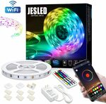 JESLED 5m Wi-Fi Strip Light for Bedroom $31.49 + Delivery ($0 with Prime/ $39 Spend) @ JESLED AU via Amazon