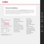 $10 off $150 Minimum Spend @ Coles Online