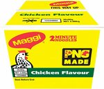 Maggi 2 Minute Noodles PNG Made, Chicken Flavour, Box of 36, 80g $12.50 + Delivery ($0 with Prime/ $39 Spend) @ Amazon AU