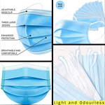 Disposable 3 Ply Face Masks - 2 Boxes (100pcs) $15.95 (Normally $60.00 for 2) Shipped @ UKIYO Technologies