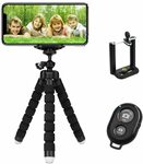 TERSELY Premium Phone Flexible Adjustable Tripod $10.49 + Delivery ($0 with Prime/ $39 Spend) @ Statco via Amazon