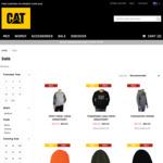 Print Crew Sweatshirt $29.99 (Was $99.99), Contemporary Logo Cap $9.99 (Was $24.99), Min Beanie $9.99 (Was $24.99) +$10 Del @CAT