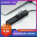 ORICO 7 Port USB 3.0 Hub w/ USB Type-C Power US$8.32 (~A$11.46) Delivered @ Orico Official Store AliExpress