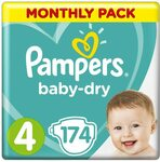 Pampers Baby-Dry Nappies Size 4 5 6 $40.80 Delivered ($34.68 S&S) @ Amazon AU
