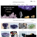 25% off Storewide - Stones & Crystals + Free Shipping @ Unique Crystals & Stones