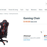 [QLD] Gaming Chair $100 (Was $199) in-Store Only @ Kmart, Westfield Chermside Shopping Centre