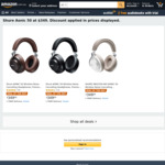 Shure AONIC 50 Wireless Noise Cancelling Headphones $349 Delivered @ Amazon AU