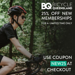 25% off New BQ Annual Membership @ Bicycle Queensland