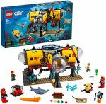LEGO City Ocean Exploration Base 60265 Building Set $49 (RRP $120) Delivered @ Amazon AU