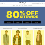80% off Sitewide (No Returns, Free shipping > $150) @ Scotch & Soda The Outlet