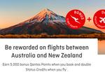 Qantas: Double Status Credits AND 5,000 Bonus Points on Trans-Tasman Flights @ Qantas