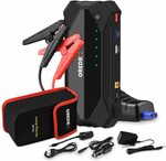 GREPRO Car Jump Starter 1500A 18000 mAh (Up to 8.0L Gas or 6.0L Diesel Engine) $77.99 Delivered @ Grepro Amazon AU