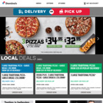 Buy 1 Get 1 Free New Yorker Pizza @ Domino's