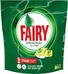 Fairy All in One Lemon Dishwasher Tablets 67 Pack $14 ($0.21 Per Count) + Delivery ($0 with Prime/ $39 Spend) @ Amazon AU