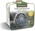 50% off Winter Wool 25Yr Anniversary Quilts: SB $119.50, DB $149.50, QB $169.50, KB $189.50 + Free Shipping >$149 @ Woolstar