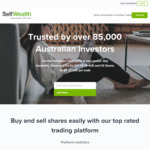 10 Free Trades for Referrer & Referee @ SelfWealth