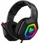 ONIKUMA K10 RGB Gaming Headset for $29.75 ($29.05 eBay Plus) Delivered @ edragon_australia eBay AU