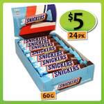 [TAS] Snickers Crispier Trio 24 x 60g $5 @ Shiploads
