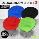 2 Folding Padded Moon Chairs $85.46 + Delivery @ Gosuperspecial eBay
