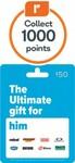 Bonus Everyday Rewards Point on Ultimate Him, Netflix, Restaurant Gift Card: $20 = 600, $50 = 1000, $100 = 2000 Pts @ Woolworths