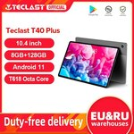 """Teclast T40 Plus + Keyboard & Case (Android 11, 10.4"""", 8GB/128GB, 4G LTE) US$197.06 (~A$272.37) Delivered @ Teclast AliExpress"""