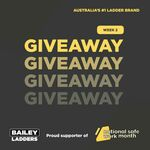 Win 1 of 5 Ladders from Bailey Ladders / WernerCo Australia