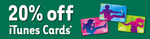 20% off iTunes Gift Cards at 7-Eleven