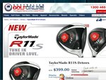 TaylorMade R11S Driver $399 + FREE Postage & Includes Headcover