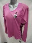 Adidas Women's Pink Long Sleeve Sports Top $2.26 @ Paul's Warehouse