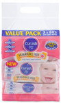 Curash Fragrance Free Baby Wipes Value 3 Pack 240 Wipes $5.99