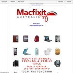 Macfixit Friends and Family Sale (15% off Everything*)