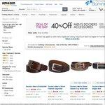 Amazon: Dockers Accessories 40% off Today