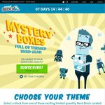 Nerdblock 15% off Coupon, Monthly Subscription Box for Small Collectables
