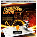 Free Christmas Lights (Worth $24.95) to First 1,000 to Register with Energizer