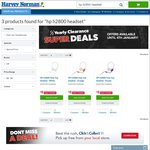 HP H2800 over-Ear Headset $8 + Free Store Pick up @ Harvey Norman
