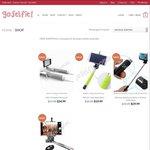 15% off Already Discounted Price All Selfie Sticks @ GoSelfie